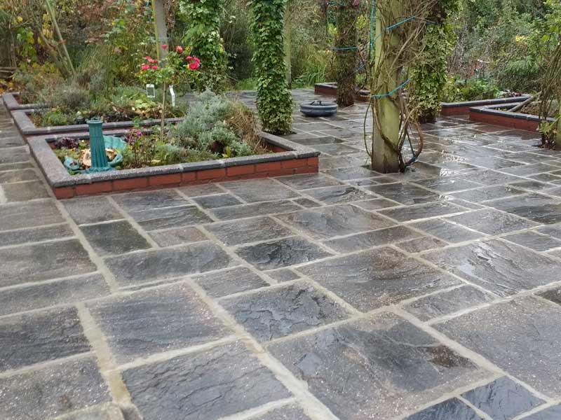 clean restore patio
