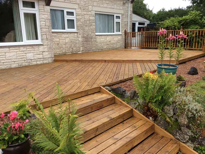 protect decking
